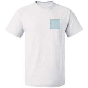 T-shirt bedrukken: Voorkant op de borst - T-shirts - DesignOntwerpen