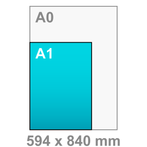 A1 Poster - staand - Poster maken - staand - DesignOntwerpen