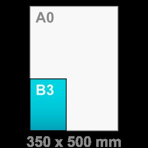 B3 Poster - staand - Poster maken - staand - DesignOntwerpen