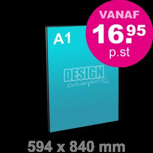 A1 Reclamebord maken - staand - Reclamebord maken - DesignOntwerpen