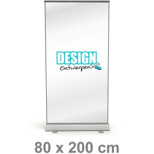 Roll-up banner - Small - Roll-up banner - DesignOntwerpen