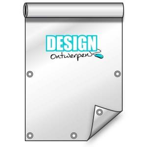 Buitendoek 70x200 cm - met ringen - Spandoek - staand - DesignOntwerpen