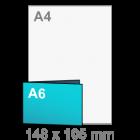 A6 Uitnodigingen - liggend