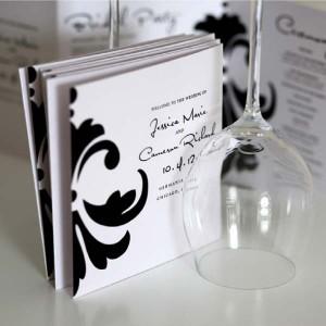 Uitnodigingen (gevouwen) - A4 Uitnodigingen - staand