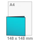 Uitnodigingen - vierkant 148x148 mm