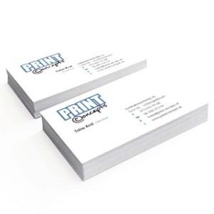 Visitekaartje printen - liggend dubbelzijdig - Visitekaartjes maken - liggend - DesignOntwerpen