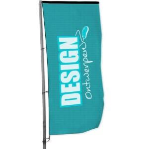 Baniervlag 150x350 cm - Baniervlag ontwerpen - DesignOntwerpen