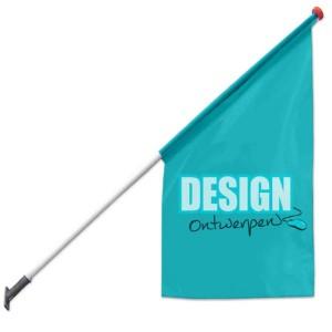 Kioskvlag 68x68x136 cm - Kioskvlag ontwerpen - DesignOntwerpen